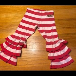 Striped Matilda Jane Benny ruffles, size 2